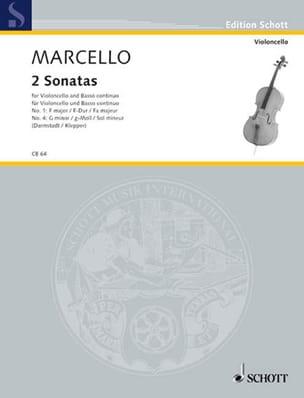 2 Sonates en Fa Majeur / sol mineur Benedetto Marcello laflutedepan