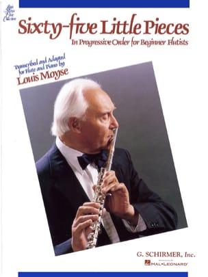 65 Little pieces - Flute piano Louis Moyse Partition laflutedepan