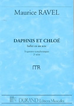 Maurice Ravel - Daphnis and Chloé 2nd Suite - Driver - Partition - di-arezzo.com