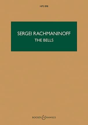 The Bells, Opus 35 - Conducteur RACHMANINOV Partition laflutedepan