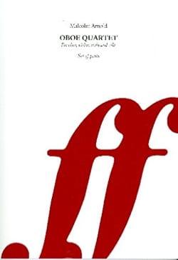 Oboe Quartet, Op. 61 - Parties Malcolm Arnold Partition laflutedepan