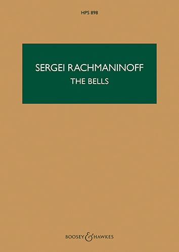 The Bells, Opus 35 - Conducteur - RACHMANINOV - laflutedepan.com