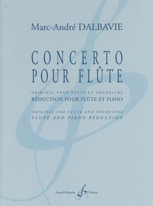 Concerto pour Flûte Marc-André Dalbavie Partition laflutedepan