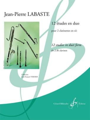 12 études en duo Jean-Pierre Labaste Partition laflutedepan