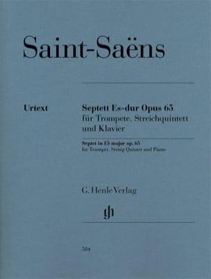 Septuor, op. 65 - Parties + Conducteur SAINT-SAËNS laflutedepan
