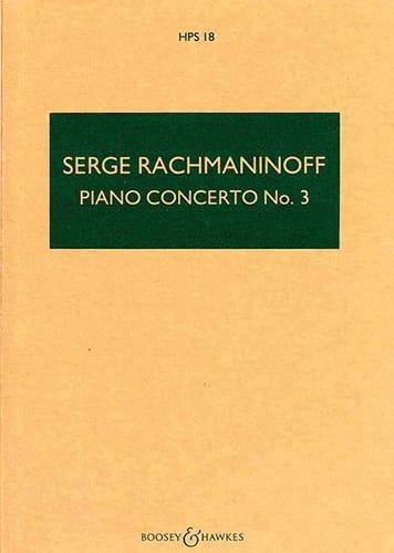 Concerto Piano n° 3 op. 30 - RACHMANINOV - laflutedepan.com