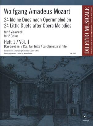 24 Kleine Duos nach Opernmelodien, Volume 1 laflutedepan