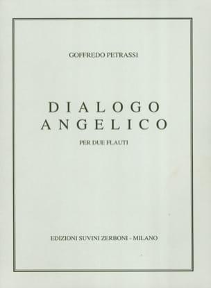Dialogo Angelico Goffredo Petrassi Partition laflutedepan