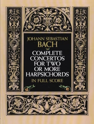 Complete Concertos for Two or More Harpsichords BACH laflutedepan