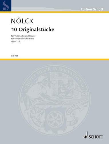 10 Originalstücke op. 116 - August Nölck - laflutedepan.com