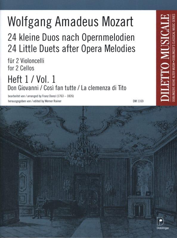 24 Kleine Duos nach Opernmelodien, Volume 1 - laflutedepan.com