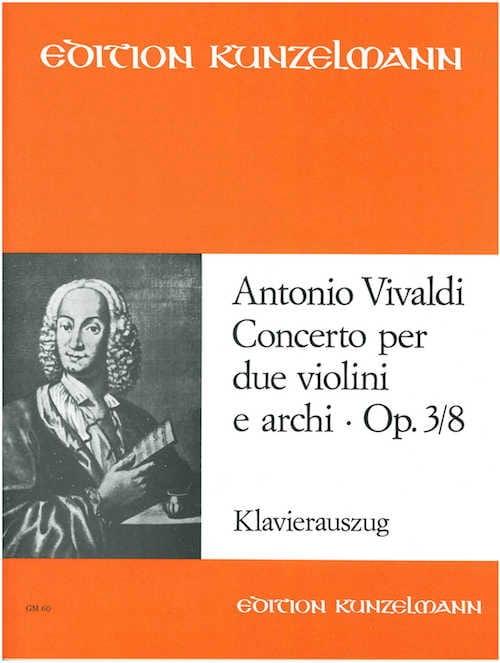Concerto op. 3 n° 8 - 2 Violinen Klavier - VIVALDI - laflutedepan.com