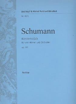 Konzertstück F-Dur op. 86 - Partitur SCHUMANN Partition laflutedepan