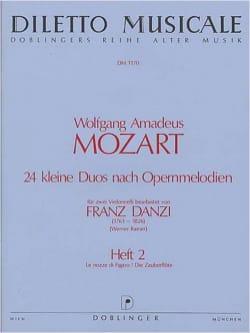 24 Kleine Duos nach Opernmelodien, Volume 2 laflutedepan