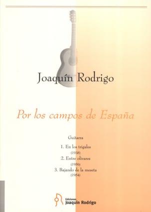 Por los campos de Espana -Guitarra RODRIGO Partition laflutedepan