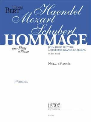 Hommage d'un Jeune Flûtiste à Quelques Grands Musiciens Volume 1 laflutedepan