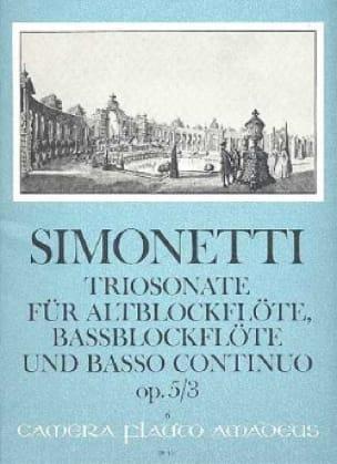 Triosonate op. 5 n° 3 -Alt— u. Bassblockflöten u. Bc - laflutedepan.com