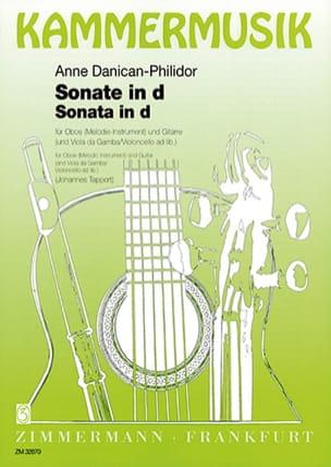 Sonate d-Moll Anne Danican-Philidor Partition Duos - laflutedepan