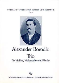 Trio op. posth. -Violine Violoncello Klavier BORODINE laflutedepan