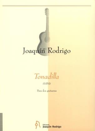 Tonadilla -2 Guitarras RODRIGO Partition Guitare - laflutedepan