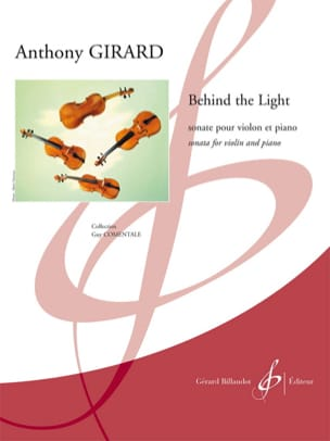 Behind the Light Anthony Girard Partition Violon - laflutedepan