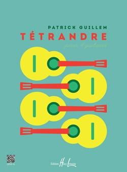 Tétrandre - 4 Guitares Patrick Guillem Partition laflutedepan