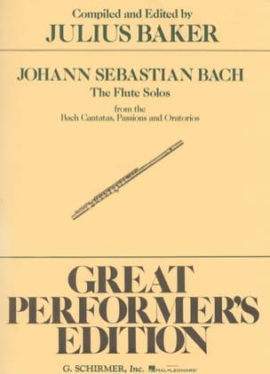 Flute Solos Bach Cantatas, Passions & Oratorios BACH laflutedepan