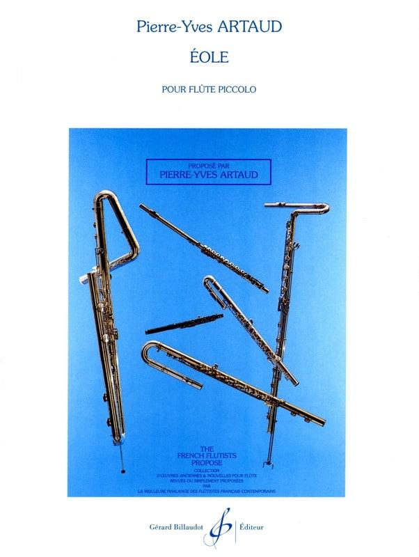Eole - Pierre-Yves Artaud - Partition - laflutedepan.com
