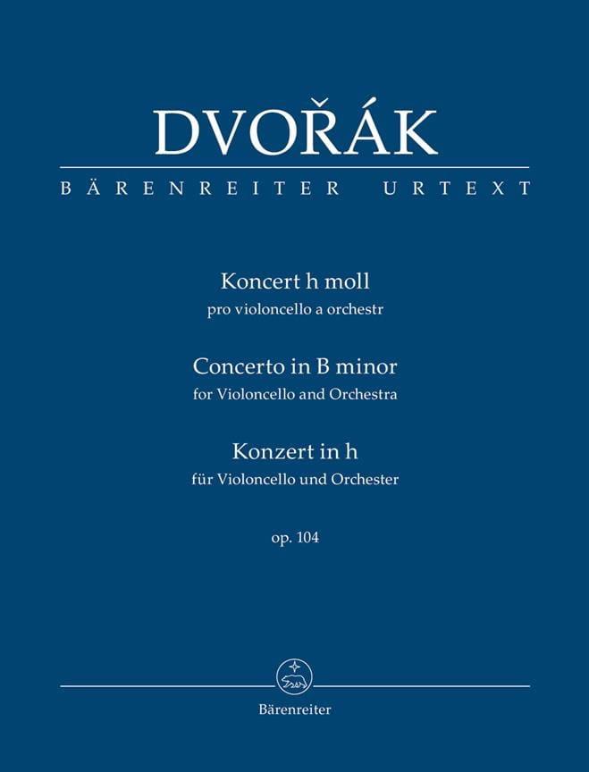 Concerto Violoncelle op. 104 - Conducteur poche - laflutedepan.com
