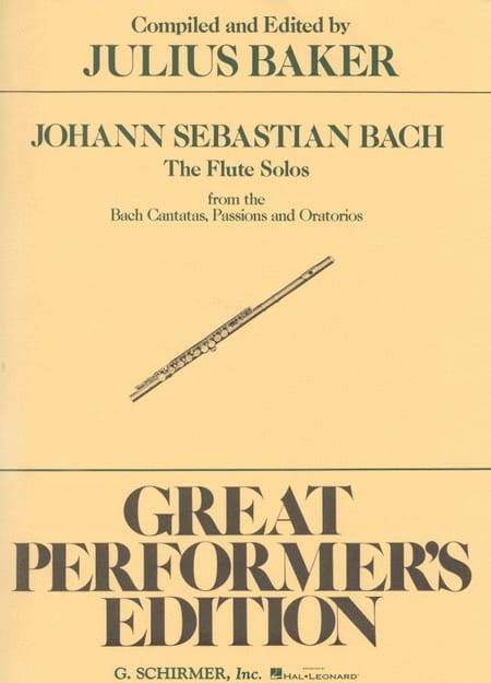 Flute Solos Bach Cantatas, Passions & Oratorios - laflutedepan.com