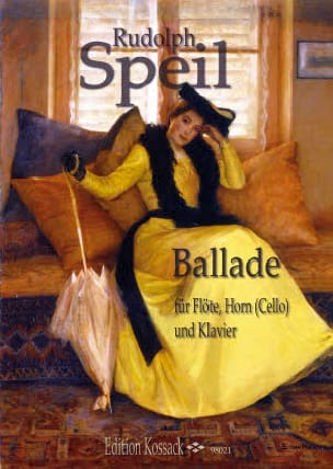 Ballade - Rudolph Speil - Partition - Trios - laflutedepan.com
