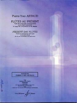 Flûtes au présent Pierre-Yves Artaud Partition laflutedepan