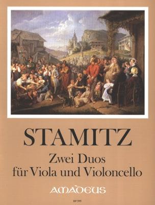 2 Duos für Viola und Violoncello STAMITZ Partition 0 - laflutedepan
