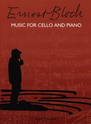 Music for Cello and Piano BLOCH Partition Violoncelle - laflutedepan