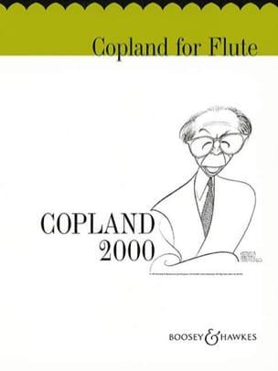 Copland for flute COPLAND Partition Flûte traversière - laflutedepan