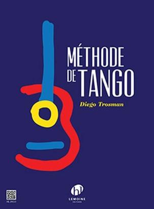 Méthode de Tango pour Guitare Diego Trosman Partition laflutedepan