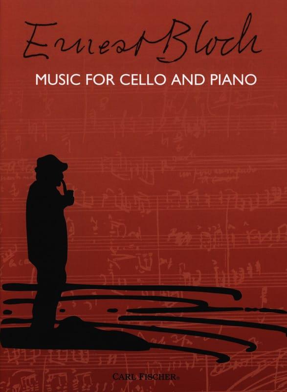 Music for Cello and Piano - BLOCH - Partition - laflutedepan.com