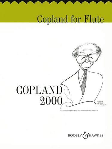 Copland for flute - COPLAND - Partition - laflutedepan.com