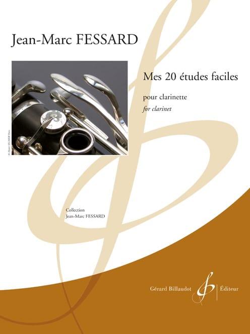 Mes 20 Etudes Faciles - Clarinette - laflutedepan.com