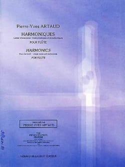 Harmoniques Pierre-Yves Artaud Partition laflutedepan