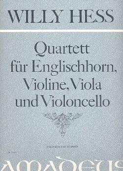 Quartett, Op. 141 - Cor Anglais-Violon-Alto-Violoncelle laflutedepan