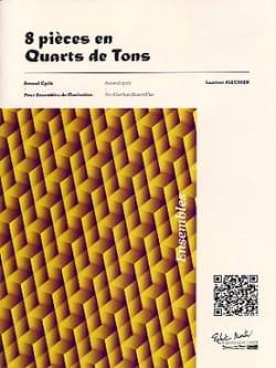 8 Pièces en Quarts de Tons - Laurent Flechier - laflutedepan.com