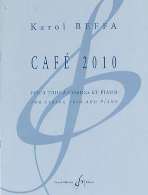 Café 2010 Karol Beffa Partition Quatuors - laflutedepan