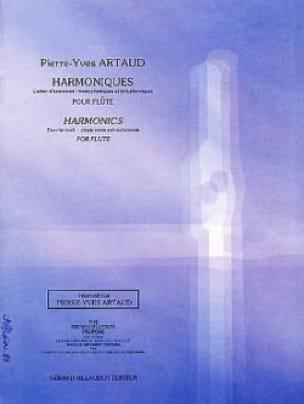 Harmoniques - Pierre-Yves Artaud - Partition - laflutedepan.com