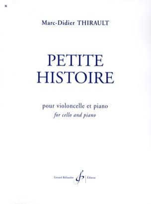 Petite Histoire Marc-Didier Thirault Partition laflutedepan