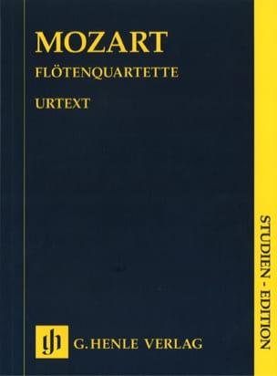 Flötenquartette -Partitur MOZART Partition laflutedepan