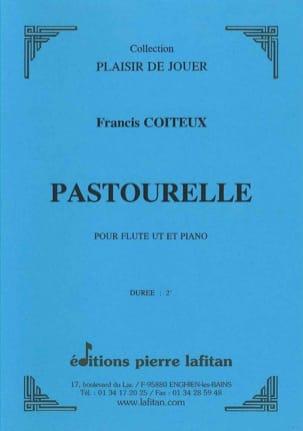 Pastourelle Francis Coiteux Partition Flûte traversière - laflutedepan
