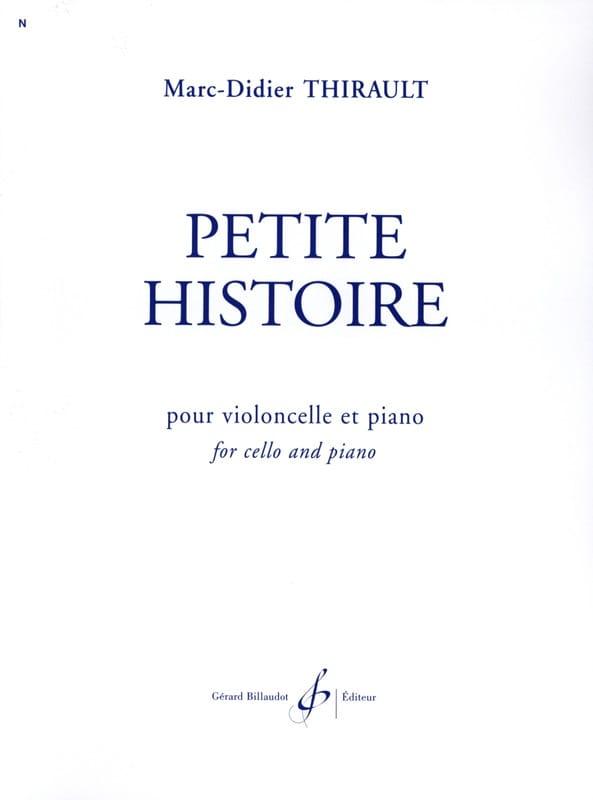 Petite Histoire - Marc-Didier Thirault - Partition - laflutedepan.com