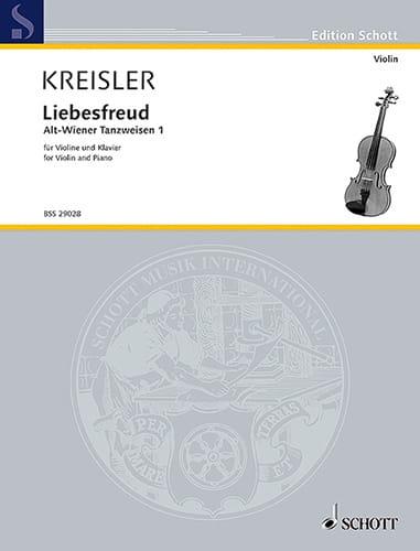 Liebesfreud - KREISLER - Partition - Violon - laflutedepan.com