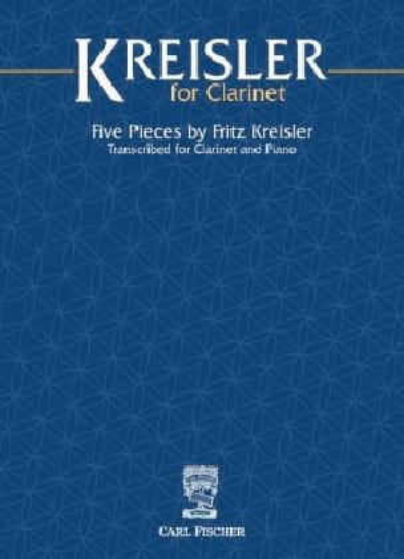 Kreisler for Clarinet - KREISLER - Partition - laflutedepan.com